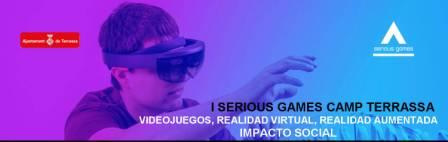 Cartel Serious Games Camp Terrassa