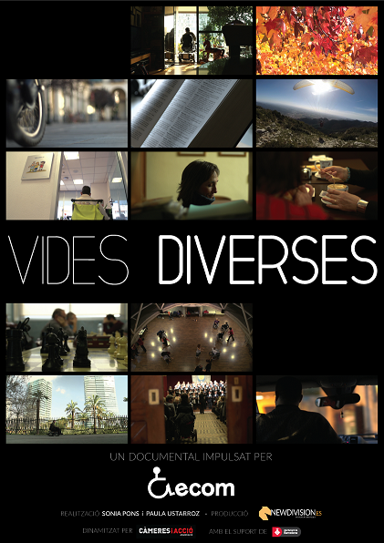 Cartel del documental 'Vidas Diversas'